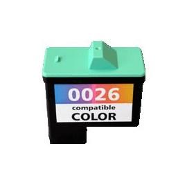 cartouche couleur pour imprimante Lexmark I3 équivalent 10N0026