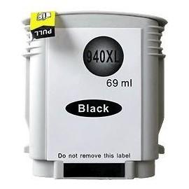 cartouche noir pour imprimante HP Officejet Pro 8000 Printer équivalent C4906AE - N°940XL