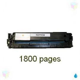 toner cyan pour imprimante HP Laserjet Pro 200 Color M251n équivalent CF211A - N°131A