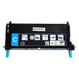 toner cyan pour imprimante Xerox Phaser 6180 équivalent 113R00723