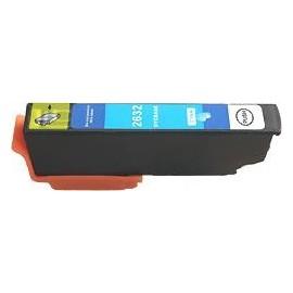 cartouche cyan pour imprimante Epson Expression Premium Xp600 équivalent C13T26324010 - 26XL