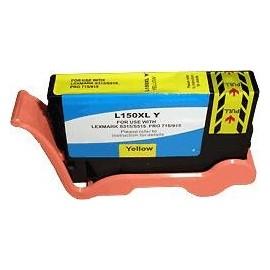 cartouche yellow pour imprimante Lexmark Pro715 équivalent 14N1618E - N°150XL