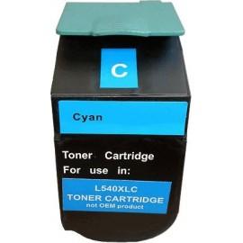 toner cyan pour imprimante Lexmark C540dw équivalent C540H2CG