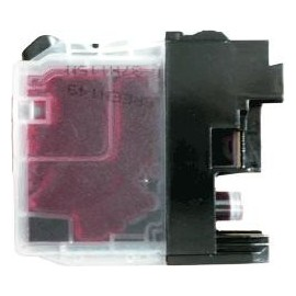 Cartouche magenta compatible Brother LC125XLM