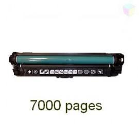 toner cyan pour imprimante HP Color Laserjet Professional Cp5225 équivalent CE741A - 307A