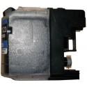 Cartouche noir compatible Brother LC123BK