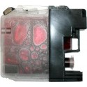 Cartouche magenta compatible Brother LC123M
