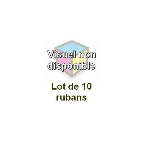 Ruban matriciel compatible epson erc 30/34/38purple - Lot de 10