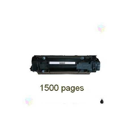 toner noir pour imprimante HP Laserjet Pro Mfp M125a équivalent CF283A