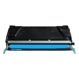 toner cyan pour imprimante Lexmark C734dn équivalent C734A1CG