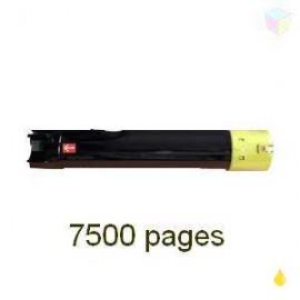 toner compatible C13S050660 yellow pour Epson Workforce Alc500dxn