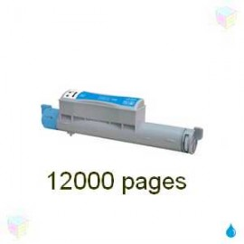toner compatible 106R01218 cyan pour Xerox Phaser 6360