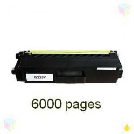 toner compatible TN329Y yellow pour Brother Dcpl8450cdw