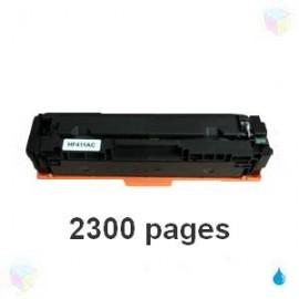 toner compatible CF411A cyan pour HP Color Laserjet Pro M377dw