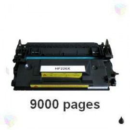 Toner noir compatible CF226X 26X