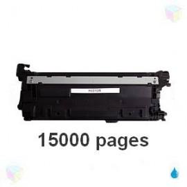 toner compatible CF331A 654A cyan pour HP Color Laserjet Enterprise M650