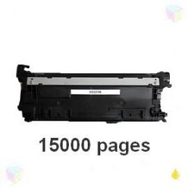 toner compatible CF332A 654A yellow pour HP Color Laserjet Enterprise M650