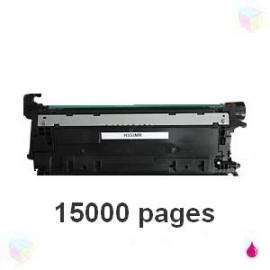 toner compatible CF333A 654A magenta pour HP Color Laserjet Enterprise M651n