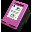 Cartouche couleur compatible F6U67AE 302XL