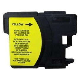 Cartouche yellow compatible Brother LC1100HYY