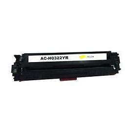 Toner yellow compatible HP CB542A - CF212A - 131A - CE322A - 128A - Canon CRG716 CRG731