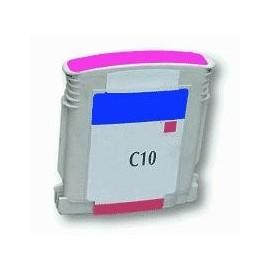 cartouche magenta pour imprimante HP Color Printer 2000 C équivalent C4843A - N°10