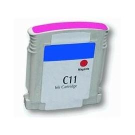 cartouche magenta pour imprimante HP Business Inkjet 1000 équivalent C4837A - N°11