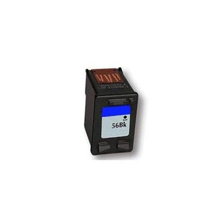 cartouche noir pour imprimante HP Deskjet 5150 équivalent C6656A - N°56