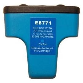 cartouche cyan pour imprimante HP Photosmart 3110 équivalent C8771EE - N°363