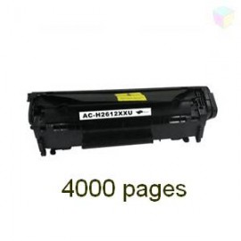 Toner noir compatible Q2612A - EP703XL 4000 pages