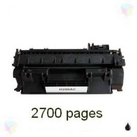 toner noir pour imprimante HP Laserjet Pro 400 M401dn équivalent CF280A - N°80A