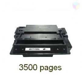 toner noir pour imprimante HP Laserjet 3320 Mfp équivalent C7115X